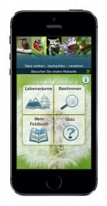 Natur erleben-App